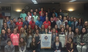 Sullivan High School NEHS Chapter Earns Award
