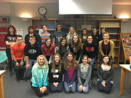 SHS Reading Challenge Winners