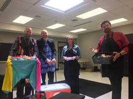 Admins Deliver Treats for Teacher Appreciation Week