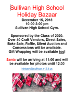 Sullivan High School Holiday Bazaar