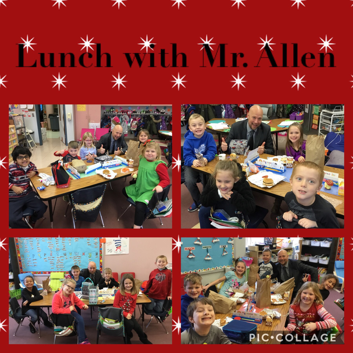 Lunch with Mr. Allen