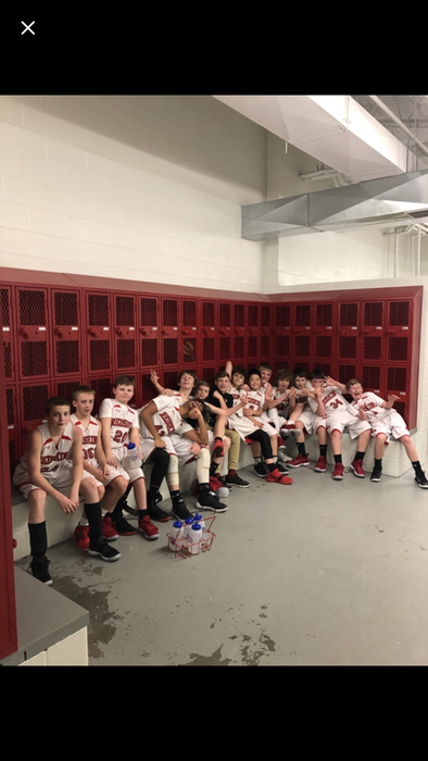 A dozen wins for 7th boys hoops!