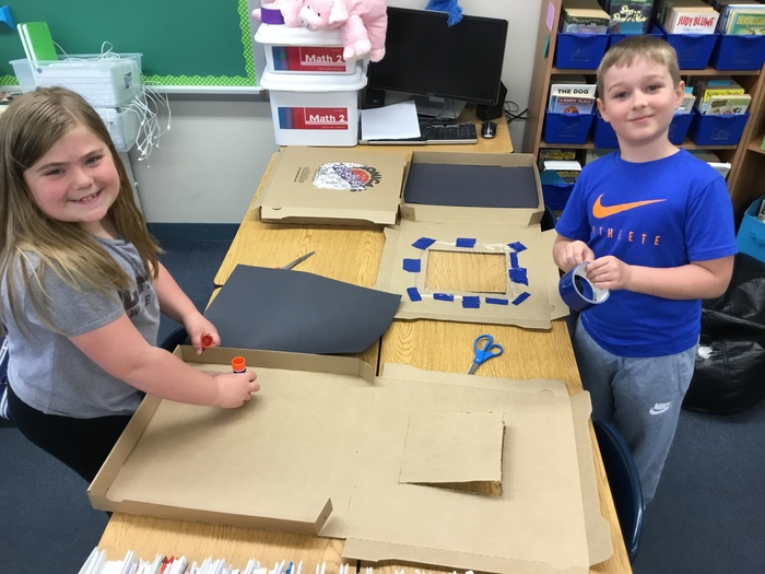 solar ovens and pizza boxes