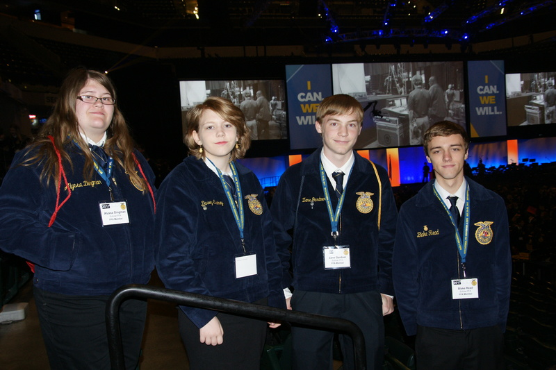 Sullivan FFA Attends National FFA Convention